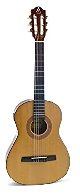 Hohner Guitars A+ AC03T Acoustic Guitar with Nylon String 3/4 Size with Tuner