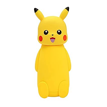 3dab1dca44c Buy Pokemon Pikachu Glass Vacuum Cup Thermo Mug Insulated Cartoon Vacuum  Flasks Thermoses Travel Drink Water Bottle for kids Online at Low Prices in  India ...