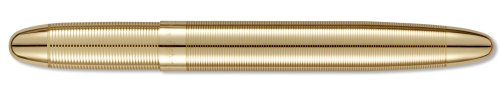 Fisher Space Bullet Space Pen, Gold Laquered Brass, Gift Boxed (400G)