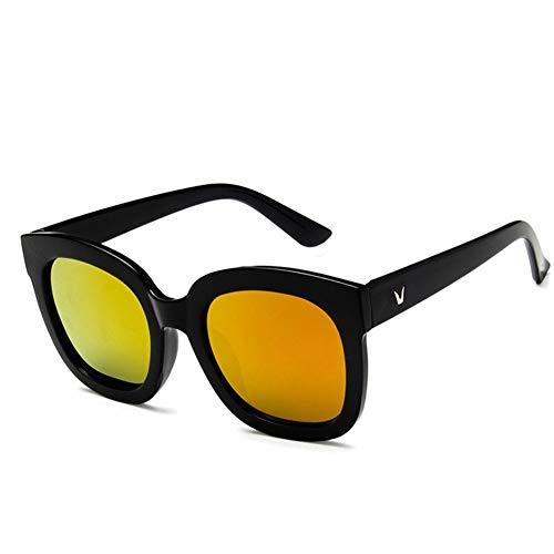 color sol gafas Gafas retro NIFG de sol redondas de 1a8wgnqR