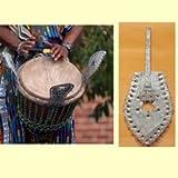 X8 Drums & Percussion X8-KK Ksink-Ksink, Kessing Djembe Drum Shakers