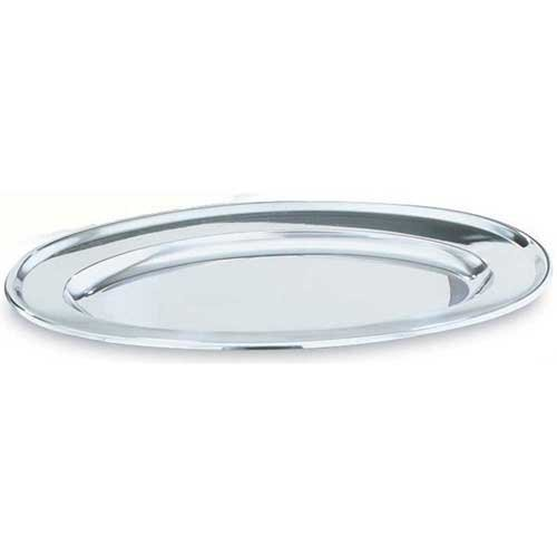 Vollrath Oval Platters (Vollrath Long Oval Stainless Steel Platter, 18 inch -- 6 per case.)