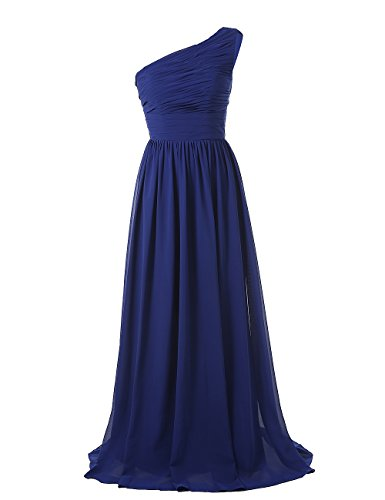 Royal Blue Bridesmaids Formal Gown - 1