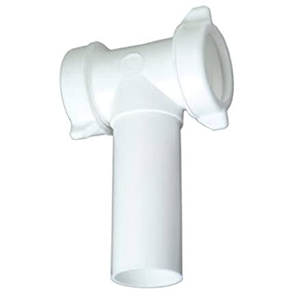 Master Plumber 453-381 MP Plastic Kitchen Drain Tee - Pipe Fittings