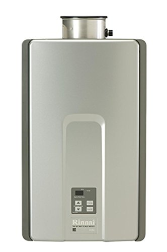 (Rinnai RLX Series HE+ Tankless Hot Water Heater: Indoor Installation)