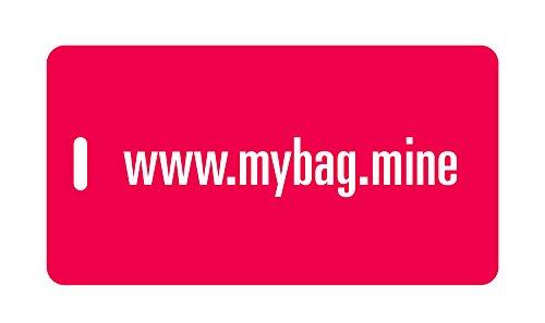 Mine Luggage Tag - Luggage Tag - www.mybag.mine