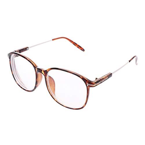 (Ultra-light Finished Myopia Glasses Men Women Frame Nearsighted Eyeglasses -1.0-1.5 -2.0-2.5 -3.0-3.5 -4.0-5.0 -5.5-6.0 )