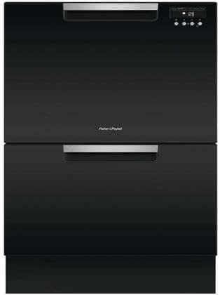 Fisher Paykel DD24DAB9 Double DishDrawer with Recessed Handle in