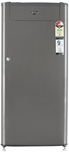 Whirlpool WDE 205 CLS 3S GREY Direct-cool Single-door Refrigerator (190 Ltrs, 3  Star Rating, Grey)
