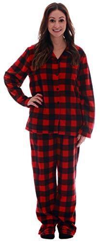 #followme Printed Flannel Family Pajamas - Womens -
