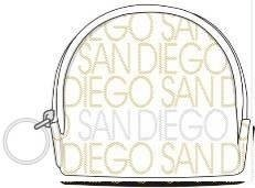 Robin Ruth San Diego Deluxe Small Round Coin purse