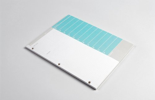 Behance Action Method, Action Pad (Blue)
