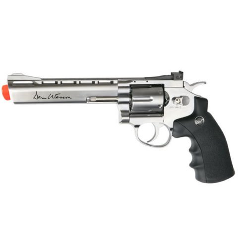 asg dan wesson 6 co2 full metal 6 - Blue Gun Revolver