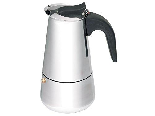 Bergner Barista - Einbau-Kaffeemaschinen  edelstahl immer grif cold 9x16.3cm; capacidad 4 tazas induktionsgeeignet