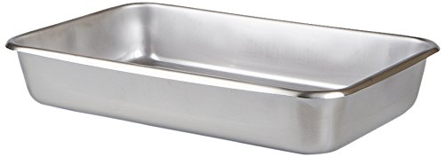 Medegen Medical Products 83120 Catheter Tray Set, 12-1/8'' x 7-5/8'' x 2-1/8'' Size, Stainless Steel