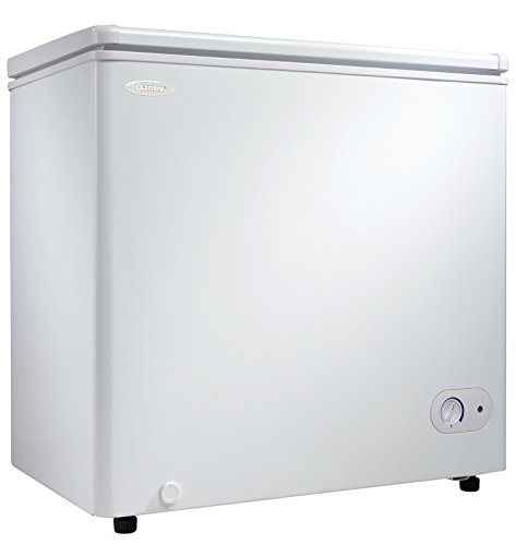 Danby DCF055A1WDB1 Chest Freezer, 5.5 Cubic Feet, White