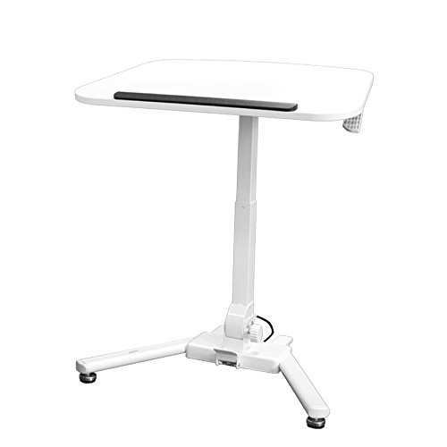 NavePoint Height Adjustable Folding Compact Mobile Laptop Desk Portable Workstation