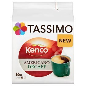 Tassimo Kenco Americano Decaff Decaffeinated Coffee - Decaf Tassimo Discs