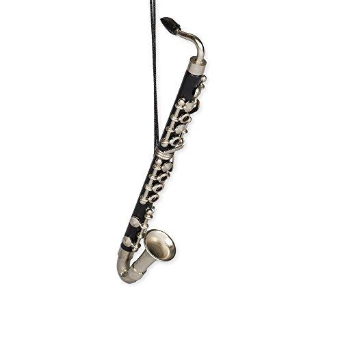 Black Bass Clarinet Tree Ornament ()