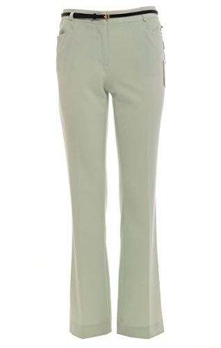 Calvin Klein Womens Plus Modern Fit Flat Front Dress Pants Green 16W