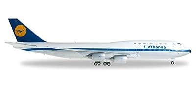 Herpa Lufthansa 747-8 1/200 Retro Livery