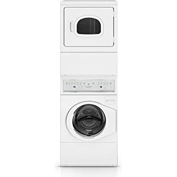 Amazon Com Speed Queen Atee9agp Electric Stacked Washer