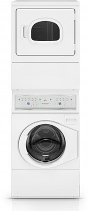 speed queen atee9agp electric stacked washerdryer with 9 washer cycles 7 dryer cycles 4