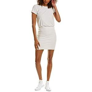 Best Epic Trends 31Pzo8j7%2BlL._SS300_ James Perse Womens Blouson Mini Dress, 0, White