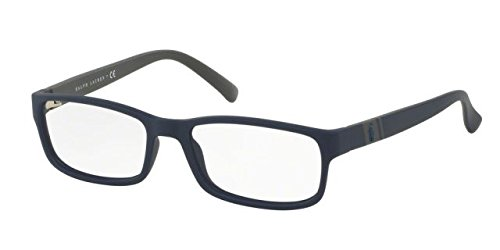 Polo PH2154 Eyeglass Frames 5590-54 - Matte Navy Blue - Prescription Glasses Polo