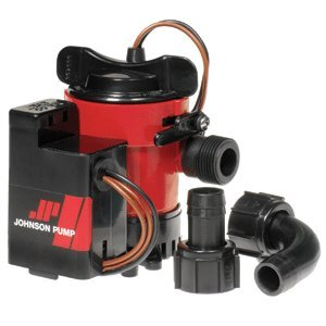 ACR Electronics Johnson Pump Cartridge Combo Bilge Pump 750GPH, 12V by ACR Electronics