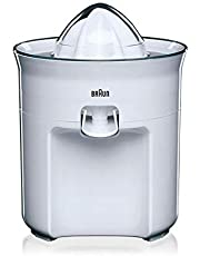 Braun Cj3050 Tribute Collection Juice Extractor White Plastic Material