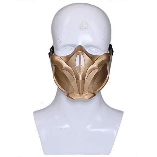 Scorpion Mask Props Accessories for MK 11 Cosplay Adult -