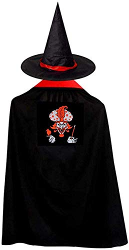 Insane Clown Posse Christmas Halloween Child Wizard Witch Cloak Cloak and Hat Red