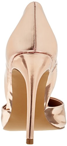 2014 unisex cheap online cheap prices Steve Madden Women's Vertigo Pump Closed Toe Heels Gold (Rose Gold 15002) sale official outlet prices popular a6LZslZcn