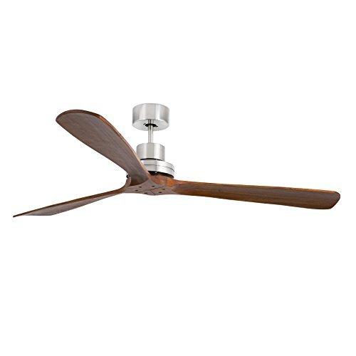 Lantau-G Ventilateur De Plafond Nickel Mat Faro 33464
