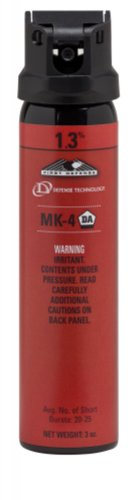 Defense Technologies First Defense OC Stream MK-4 1.3% Solution Red Band Pepper Spray (3.0-Ounce)
