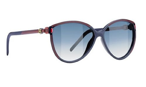 e421223aaee Image Unavailable. Image not available for. Color  Balenciaga Sunglasses  0104 S Blue Red Shades