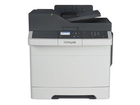 Lexmark CX310n - Impresora multifunción (Laser, 600 x 1200 dpi, A4, Negro, Gris, Color, Base Plana y ADF)