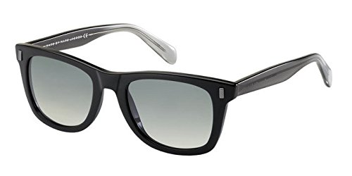 Marc by Marc Jacobs Women's MMJ335S Wayfarer Sunglasses, Shiny Black, 51 - Marc Jacobs Heart Sunglasses