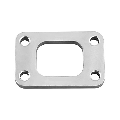 - CXRacing T3 Turbo Manifold Flange Adapter 304 Stainless Steel T04E GT35