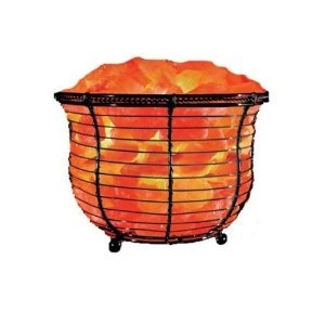 Wbm 1301B Himalay Salt Basket Lamp