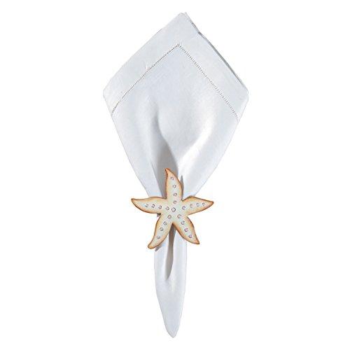 C&F Home Starfish Napkin Ring Set of 6 Napkin Ring Set of 6 Starfish ()