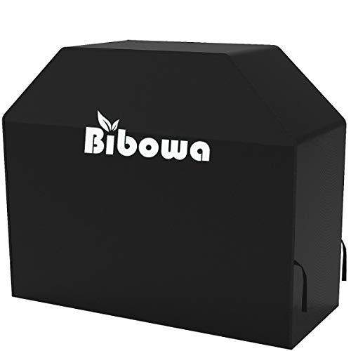 - Bibowa Waterproof Grill Cover 55 Inch - Heavy Duty BBQ Grill Cover with UV Coating for Most Brands of Grill