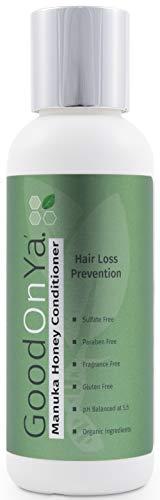 Deep Conditioning Hair Treatment with Biotin for Hair Growth - Hair Loss Treatment Deep Conditioner with Manuka Honey & Aloe Vera - Treatment for Dry Damaged Hair - Safe for Color Treated Hair (4 oz)