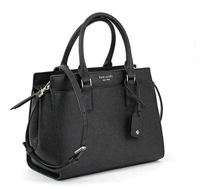Kate Spade New York Cameron Medium Satchel Purse (Black) from Kate Spade New York