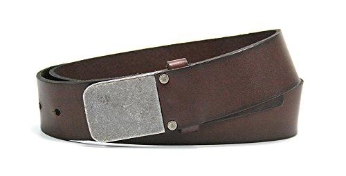 Bill Lavin Belts (Leather Island 39mm Vegetable Cognac Tanned)