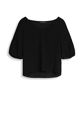 Femme 001 Collection ESPRIT Blouse Noir Black 4XEXPqw