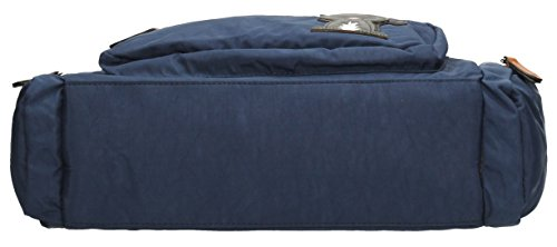 SwankySwansKempton Ladies Day Multi Zip L - Borse a Tracolla donna Navy blue