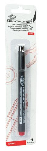 Royal & Langnickel Nano-Liner Drawing Pen, Size 05, Red