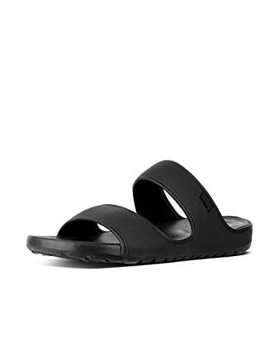 Fitflop Lido Double Slide Sand Neopr - Sandalias de Hombre EN Color Negro